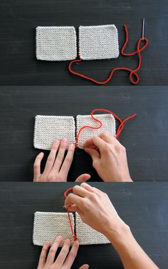Purl Soho Videos: Finishing Techniques - The Purl Bee - Knitting Crochet Sewing Embroidery Crafts Patterns and Ideas!