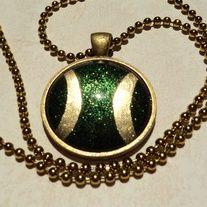 Avengers Inspired Necklace: Loki; Custom Order
