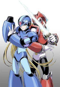 Mega Man, Video Game Characters, Fantasy Characters, Maverick Hunter, Zero Wallpaper, Megaman Series, Fanfiction, Pokemon, Fighting Robots