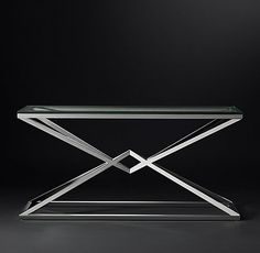RH Modern's Empire Collection - Polished Stainless Steel