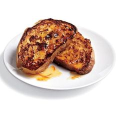 Ciabatta French Toast with Marmalade Drizzle | CookingLight.com