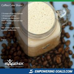 Amazing protein shake recipes by Isagenix. Learn how the amazing Isalean Shake can fuel you with 24 grams of indentured protein as well as needed vitamins and minerals to make a complete meal replacement shake that tastes amazing Healthy Diet Plans, Healthy Snacks, Healthy Recipes, Ninja Recipes, Healthy Breakfasts, Clean Recipes, Healthy Habits, Healthy Tips, Healthy Choices