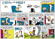 Calvin and Hobbes by Bill Watterson for Mar 19, 2017 | Read Comic Strips at GoComics.com