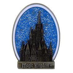 Your WDW Store - Disney Magic Kingdom Pin - Cinderella Castle Glitter Sky