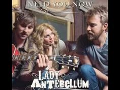 Lady Antebellum - Need You Now (HQ) [Lyrics] Dont usually listen to country, but love this song.