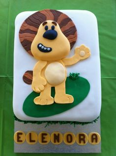 Raa Raa The Noisy Little Lion cake 2 Birthday Cake, 1st Boy Birthday, Birthday Ideas, Lion Cakes, Animal Cakes, Cake Smash, Cake Decorating, Projects To Try, Party Ideas