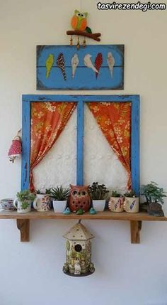 Craft diy project diy handmade wood painting balcony cocokelley via oreeko Diy Craft Projects, Wood Projects, Indian Home Decor, Diy Home Decor, Indian Bedroom Decor, Home Crafts, Diy And Crafts, Handmade Crafts, Diy Y Manualidades