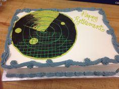 Air traffic control cake