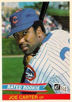 1984 Donruss Joe Carter Chicago Cubs Baseball Card for sale online Chicago Baseball, Cubs Baseball, Chicago Cubs, Dwight Gooden, Cubs Players, Go Cubs Go, Cubs Fan, Black Sharpie, The Outfield
