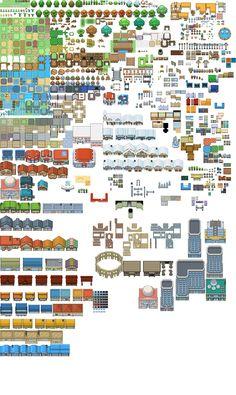 o trouver des tilesets complets rpg maker forum pokemon trash pkmn pinterest. Black Bedroom Furniture Sets. Home Design Ideas