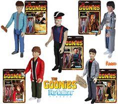 The Goonies ReAction Retro Action Figures