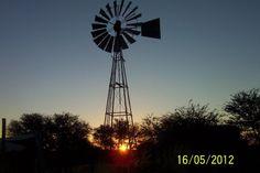 This photo was taken on a farm in the Kalahari in Namibia.  Image: Fanie Smit