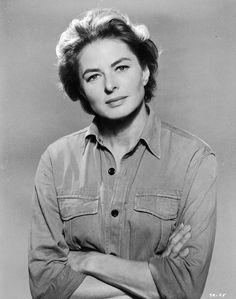 La belleza de Ingrid Bergman, en 40 fotos