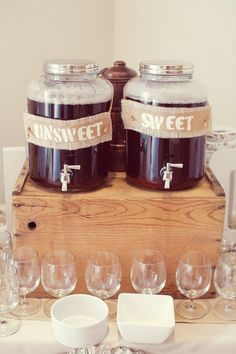 Put these on top of the barrel table I've pinned a few times. These are all things I think would be easy to find anywhere, but especially Tennessee. Wedding Reception, Rustic Wedding, Our Wedding, Dream Wedding, Reception Food, Wedding Shit, Wedding 2017, Wedding Places, Wedding Trends