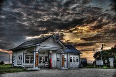old gas station along route 66 {mister joe : joe L}