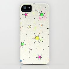ladies and gentlemen we are floating in space iPhone & iPod Case by Mariana Beldi - $35.00