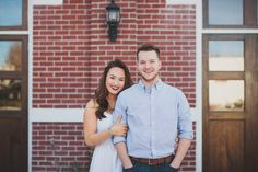 Houston Heights Firehouse Photographer/Engagement Session/Kelly Costello Photography