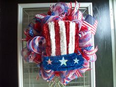 Created by Wreaths Bows and Things..  Items has been sold
