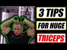 3 Tips to get Monster Triceps fast - YouTube