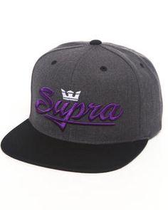 Supra | Signature Starter Snapback Cap. Get it at DrJays.com