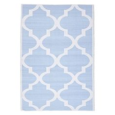 Exude exotic style in your sunny space with the laid-back looks and durable quality of the UV protected Whitehaven Indoor/Outdoor Rug from Rug Culture.