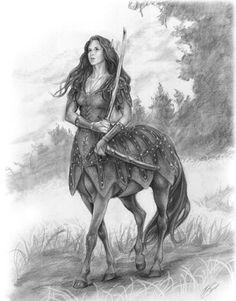 Zentaur weiblich