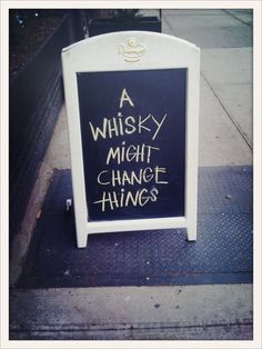 It just MIGHT. And if it doesn't, you've only lost a little sobriety.