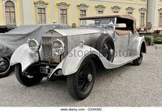 Rolls-Royce Phantom I, Colonial Style Open Tourer, vintage car, Retro Classics meets Barock 2012, Ludwigsburg - Stock Image