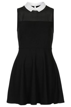 Collar Flippy Tunic - Topshop