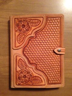 Hand tooled leather ipad case by WesternLeatherCo on Etsy, $145.00