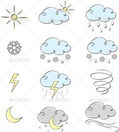 Hand Drawn Weather Icons Collection Hand drawn cute weather icons collection Created: GraphicsFilesIncluded: JPGImage Layered: No MinimumAdobeCSVersion: CS Tags: abstract Doodle Drawings, Doodle Art, Bullet Journal Graphics, Planner Doodles, Organization Bullet Journal, Weather Icons, Weather Forecast, Doodle Icon, Sketch Notes