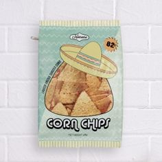 Nonsense - Corn Chips Pencil Case #stationery #case #pencil #school #desk
