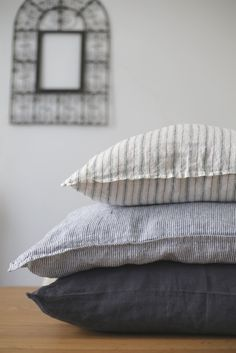 taie et coussin by LINEN AND MILK