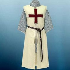 MEDIEVAL KNIGHT Templar Crusader Middle Ages TANCRED TUNIC SURCOAT S/M L/XL New #Windlass #SleevelessSurcoatTunic