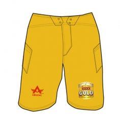 Simple Mustard Yellow Shorts
