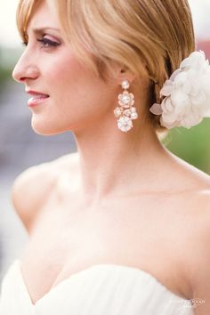 Wedding hairstyle idea; Featured Photographer: Hunter Ryan Photo