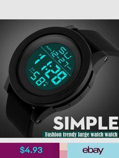 e6f4da1a6f8 LED Waterproof Digital Quartz Watch Men Fashion Date Time Backlight  Silicone Rubber Strap Military Sport Men prime s Watch relogio