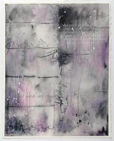 МИТЧЕЛЛ Джанин  Мельбурн, Австралия Капля туши    Растянутая бумага BFK Rives, кроющая гуашь, остроконечное перо, остроконечная кисть, металлические перья, цветные карандаши, 28,5х37,5 см, 2008 г.