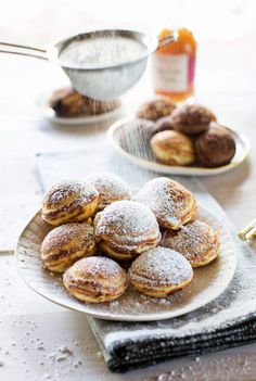 Filled Pancake Puffs
