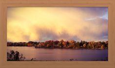 Lake Adrian Fall cloud at sunset