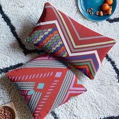 Beaded Geo Valley Pillow Cover   west elm