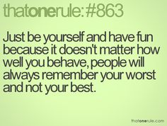 That One Rule ... ... Click this image to browse more #quotes & #funny pics! :)