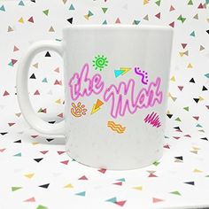 The Max Saved by the Bell 11 oz Coffee Mug. We create our items to the highest standard possible by incorporating the best sublimation inks and mugs available. These ensure a sharp print that won't peel or scratch off and assures you of a top-notch product. -11 oz. Ceramic Mug -Microwave and dishwasher safe -Design is sublimated into the mug, will not fade of wash off! -Design will face outward while holding in your right hand. But that can be switched if you're a lefty! Let us know…