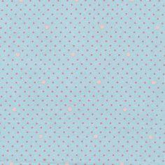 "Au Maison Wachstuch ""Mini Punkte"" (aqua sky) Aqua, Himmelblau, Dots, Sky, Mini, Oilcloth, Creative, Stitches, Heaven"