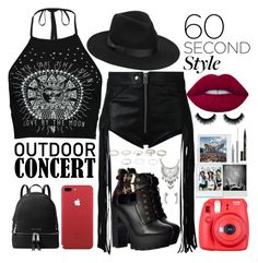"""Untitled #25"" by fiorestorniolo on Polyvore featuring TOMORROWLAND, Diesel, Boohoo, Lack of Color, Lime Crime, MICHAEL Michael Kors, Fuji, NYX, Smith & Cult and Miss Selfridge"
