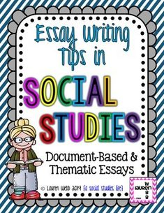 6th grade dbq essay Create a thesis statement and include relevant facts, details, reasons, and examples that support the thesis 060135 links verified on 6/1/2014 compose a thesis statement - now that you have decided, at least tentatively, what information you plan to present in your essay, you are ready to write your thesis statement.