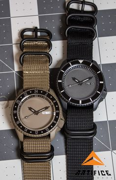 Desert Stealth Seiko SKX007 Cerakoted watch