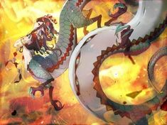 Dragon Girl, Picture Search, Monster Girl, Manga Pictures, Original Image, Anime, Character, Cartoon Movies, Anime Music