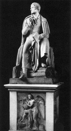 Bertel Thorvaldsen, Byron, Wren Library, Trinity College, Cambridge