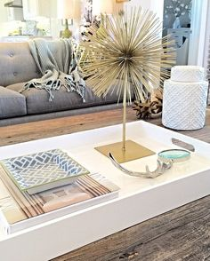 @interiorsbyzdesign layered our fan favorite Scoppio on Stand onto this stylish and understated coffee table.